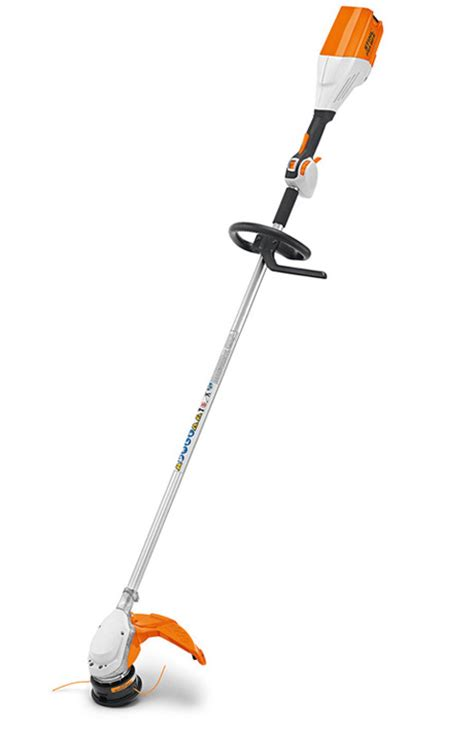 fsa 90 r tool only cordless loop handle brushcutter with stihl ecospeed