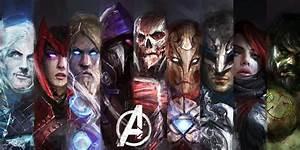 Striking Avengers Fanart Remixes Superheroes As Hulking