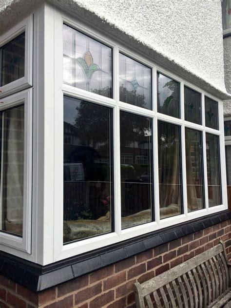 square bay window black cill  window company