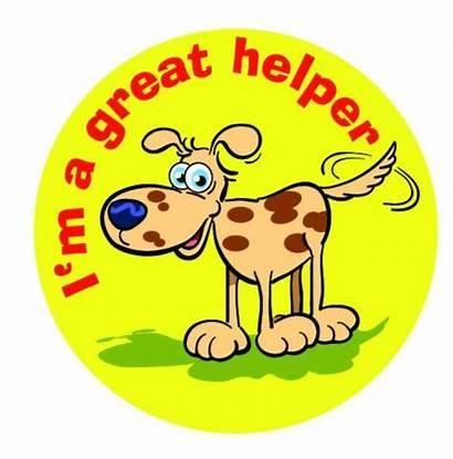 Helper Stickers Sticker Merit Larger Version Schoolmeritstickers