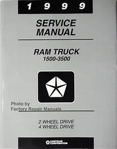 1999 Dodge Ram Truck Factory Service Manual