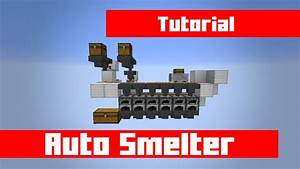 Ad Auto Distribution : how to build a cheap easy auto smelter with even distribution in minecraft youtube ~ Maxctalentgroup.com Avis de Voitures