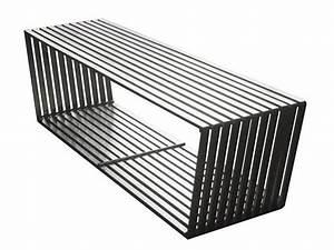 Banc Design Interieur : banc design inox mobilier ~ Teatrodelosmanantiales.com Idées de Décoration