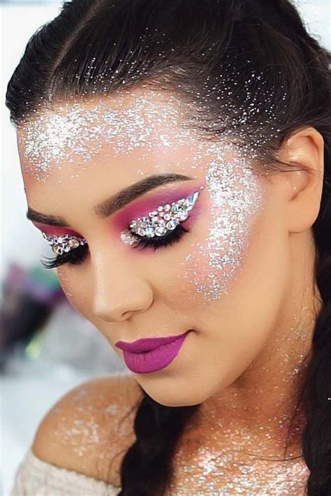 coachella makeup inspired     real hit coachella makeup glitter makeup