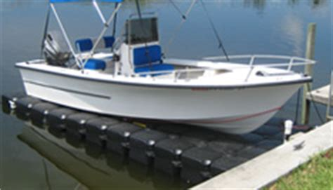 Front Mount Boat Lift For Sale by Static Floating Boat Lifts For All Climates