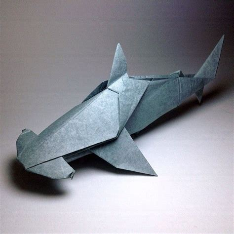 Origami Hammerhead Shark Pinterest