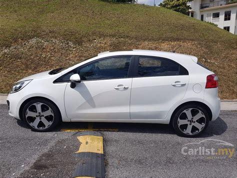 kia rio  sx   selangor automatic hatchback white