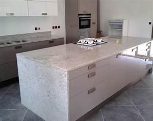 Plan De Travail Com : plan de travail en marbre exemples de r alisations en photo ~ Melissatoandfro.com Idées de Décoration