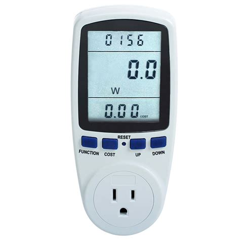 plug in power consumption meter energy electricity usage