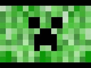 Minecraft Pixel Art Tutorial   Creeper Head - YouTube