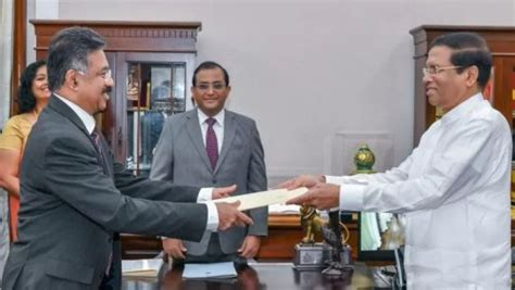 sri lanka president appoints  chief justice