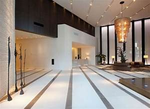 Modern Lobby Hotel Design with Luxury Chandelier and ...