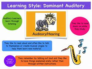 Learning Style: Auditory | Phonics101's Blog