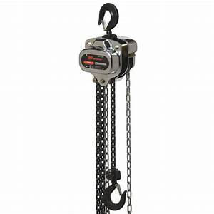 Ingersoll Rand Smb050-20-18v Manual Chain Hoist