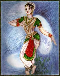 Indian Classical Dance Painting