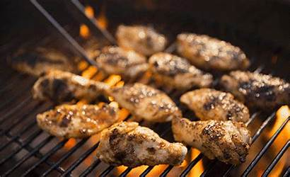 Chicken Wings Gifs Grilling Bbq Cooking Animated