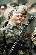 Russian women soldiers...Russian Female Soldiers