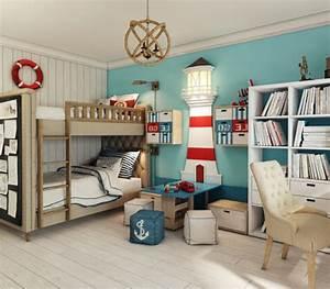 Kinderzimmer Ideen Junge : 1001 ideen f r kinderzimmer junge einrichtungsideen ~ Frokenaadalensverden.com Haus und Dekorationen