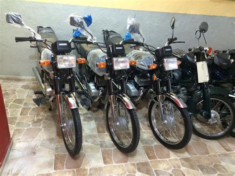 Honda Cub With Piggy-back Shocks Spotted On