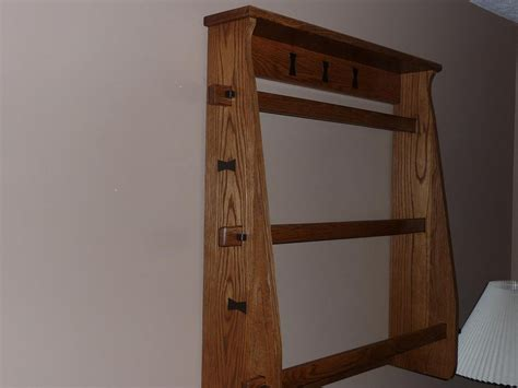 Woodworking Project Quilt Rack