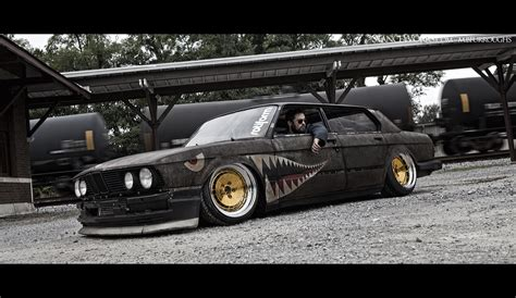 Rat Rod Bmw With Supra Turbo It's The Bimmer Bomber