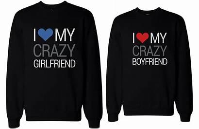 Boyfriend Girlfriend Matching Bf Gf Couple Sweaters