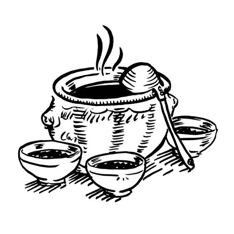 ustensile de cuisine de dessin de ustensile de cuisine