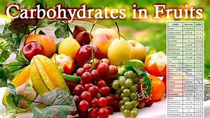 carbs in fruit | Healthy Food/ Recipes Low Carb | Pinterest