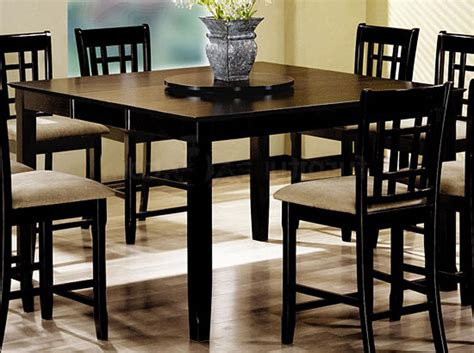 high top dining table set bar height dining table set