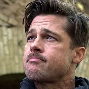 Brad Pitt Hairstyles | Men's Hairstyles + Haircuts 2017