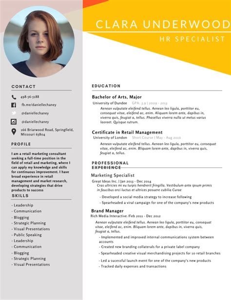 is there any free site to design my resume using templates