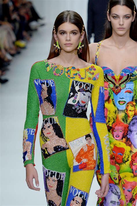 Kaia Gerber Versace Show In Milan 09222017
