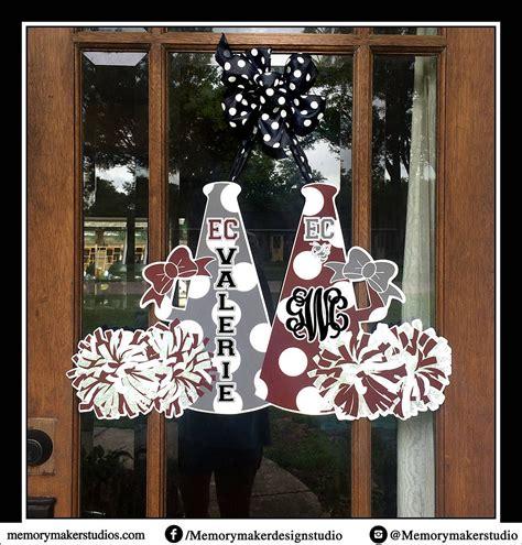cheer decorations cheer c door hanger door hanger cheer