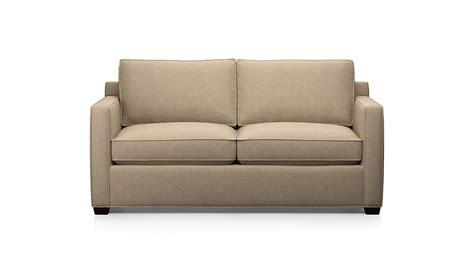 Davis Sleeper Sofa by Davis Full Sleeper Sofa Mink Crate And Barrel
