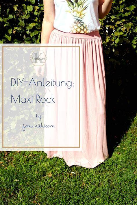 diy anleitung maxi rock rock selber naehen