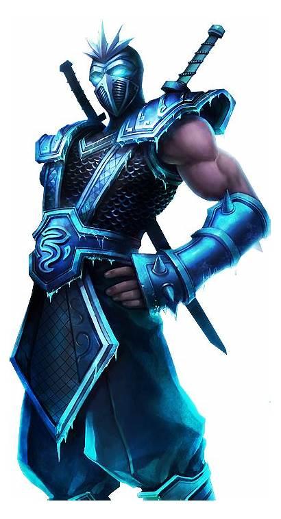 Shen Lol Frozen League Skin Legends Transparent