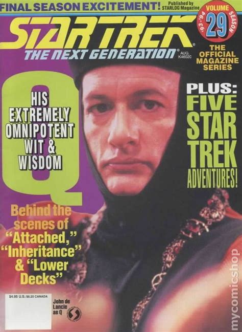 trek the next generation magazine 1986 29 vf