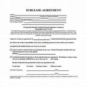 Sublease agreement 22 download free documents in pdf word for Commercial sublease agreement template download