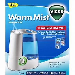 Vicks Warm Mist Humidifier Manual