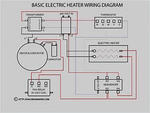 Schematic Contactor Wiring Diagram Ac Unit