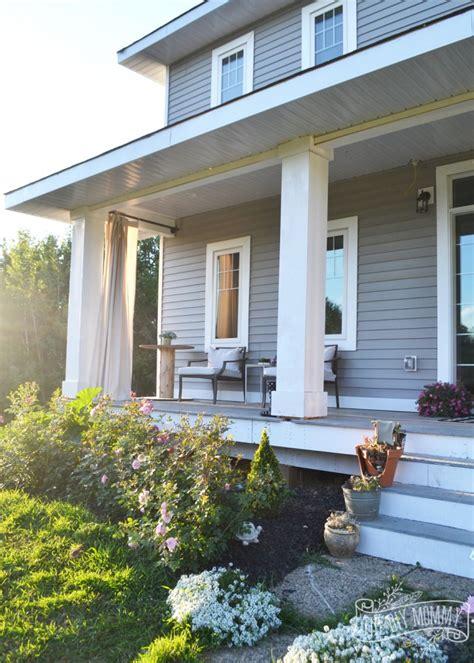 diy porch columns working   curb appeal   diy