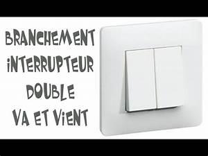 Double Va Et Vient : branchement interrupteur double va et vient youtube ~ Nature-et-papiers.com Idées de Décoration