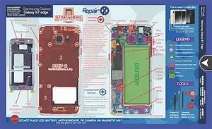 Samsung Galaxy S7 Edge Repair Schematic