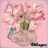 (bj) animated butterfly spring heart love light pink rose ...