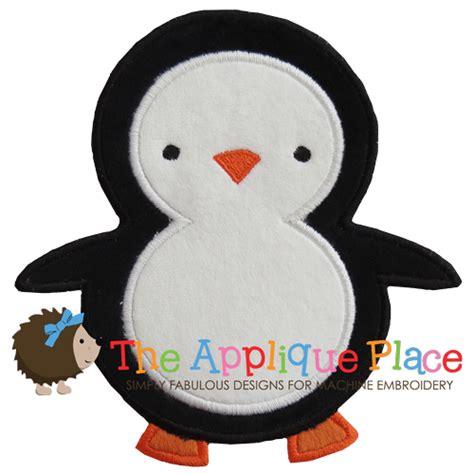 Penguin Applique applique penguin