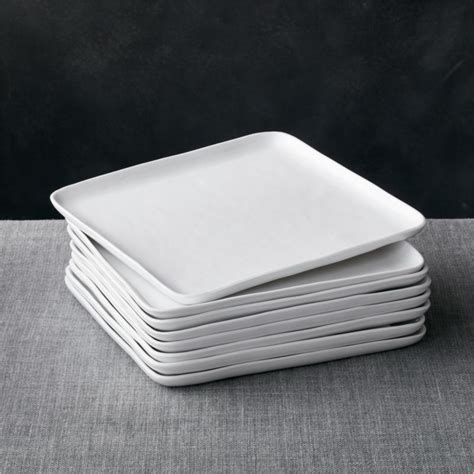 set   mercer square dinner plates reviews crate