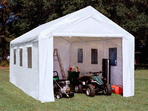 king canopy  foot   foot hercules enclosed canopy shelter  windows  snow load kit