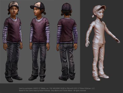 by design season 2 steve clementine from telltale s walking dead series