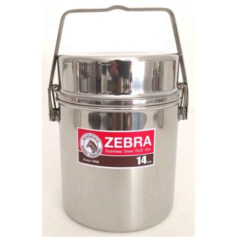 zebra pot billy stainless steel 14cm pan lid double handle canada boiler