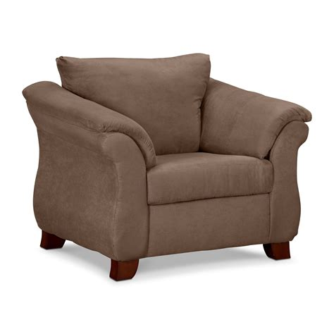 Adrian Chair  Taupe  Value City Furniture